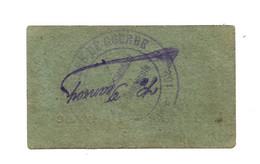 1914- 1918 // P.O.W. // Bon De Prisonnier De Guerre // 152 ème Compagnie // P.G.R.L. DU NORD // 1 Franc - Bons & Nécessité