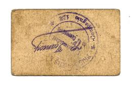 1914- 1918 // P.O.W. // Bon De Prisonnier De Guerre // 152 ème Compagnie // P.G.R.L. DU NORD // 10 Centimes - Bons & Nécessité
