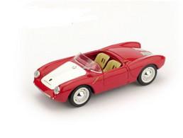 Porsche 550A Spyder - 2 Places - 1954 - Red + White - Brumm - Brumm