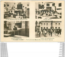 K. 94 SAINT-MAUR. Pension Fabre Avenue Marinville. Cours Et Leçon De Gymnastique 1932 - Saint Maur Des Fosses