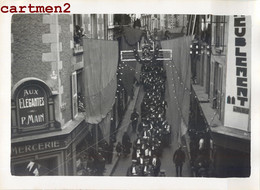 PHOTOGRAPHIE ANCIENNE : POITIERS FETE INAUGURATION JUSTICE FACULTE MAGISTRATS AUX ELEGANTES MAIN JUGE - Poitiers