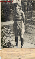 PRINCE DU DANEMARK COMMANDANT AAGE ROSENBOURG MORT TAZA MAROC GUERRE DENMARK WAR LEGIONNAIRE CAMPAGNE ALGERIE - Guerra, Militari