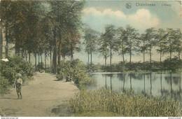 Belgique CHATELINEAU. 1903 L'Etang - Chatelet