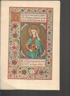20 08 17//     8 X    LITHO  H HART VAN MARIA      V D VYVER PETIT  BRUGGE !!!                         18/28 Cm - Godsdienst & Esoterisme