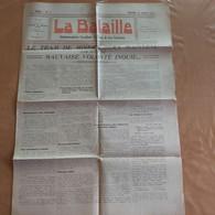 DOUR ET ENVIRONS LA BATAILLE  DIMANCHE 12/01/1930  MAISON DU PEUPLE DE DOUR  DIRECTEUR H.HARMEGNIES - Zonder Classificatie