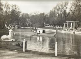 Oostende - Ostende Kunstfoto Antony 29.5 X 23 Cm - Leopoldspark, Met Hert En Venitiaanse Bootjes - Old (before 1900)
