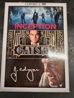 Coffret 3dvd Di Caprio  +++TBE+++ - Non Classificati