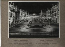 Oostende - Ostende Reklame Foto Kwikdamplampen PHILORA 30 X 24 Cm - Leopoldslaan - Old (before 1900)