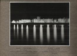 Oostende - Ostende Reklame Foto Kwikdamplampen PHILORA 30 X 24 Cm - Zeedijk - Old (before 1900)