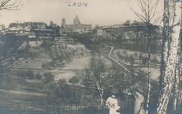 02) LAON : Carte-Photo Allemande - Vue Générale - 1.WK - WW1 - Weltkrieg - Laon