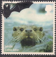 GB 2010 QE2 1st Mammals Otter SG 3061 Ex FDC ( A855 ) - Gebraucht