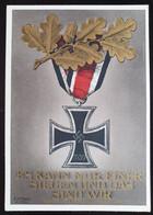 """Deutsches Reich 1939, Postkarte PP122 """"Eisernes Kreuz"""" Ungebraucht - Covers & Documents"""