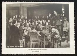 """Deutsches Reich 1938, Postkarte """"Der Befreier Deutschlands"""" NÜRNBERG Sonderstempel - Briefe U. Dokumente"""