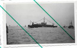 Heist Heyst 1951 Bateau Militaire F910 Photo 6,5x11,5 - Lugares