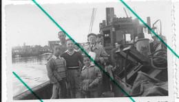 Heist Heyst 1951 Bateau  Photo 7x11 - Lugares