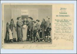 W7S80/ Bilder Aus Dem Volksleben Des Schwarzwald`s AK Trachten 1903   (b) - Ohne Zuordnung