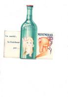 Publicité Eau De MONTMIRAIL Vaucluse Près De GIGONDAS VACQUEYRAS - Historical Documents