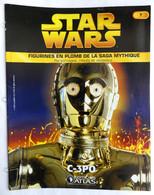 LIVRET EDITIONS ATLAS STAR WARS FIGURINES 2005 6 - C - 3PO C-3PO (2) - Episodio I