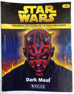LIVRET EDITIONS ATLAS STAR WARS FIGURINES 2005 8 - DARK MAUL (2) - Episodio I