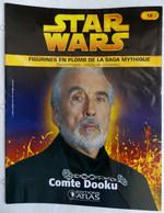 LIVRET EDITIONS ATLAS STAR WARS FIGURINES 2006 12 - COMTE DOOKU (2) - Episodio I