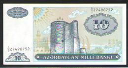АЗЕРБАЙДЖАН  10 МАНАТ    1993 UNC - Azerbaigian