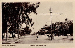 MOÇAMBIQUE - LOURENÇO MARQUES - Avenida Da Republica - Mosambik