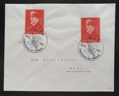 Deutsches Reich 1941, Brief Mi 2x772 WIEN Sonderstempel - Lettres & Documents