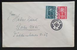 """Deutsches Reich 1938, Brief """"Der Führer In Wien"""" Sonderstempel - österreichische Frankatur - Lettres & Documents"""