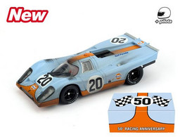 Porsche 917K - Team JWA-Gulf - Jo Siffert/Brian Redman - 24h Le Mans 1970 #20 - Brumm (raced Version) - Brumm