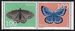 "SUIZA /SHWEIZ /SWITZERLAND / HELVETIA  -EUROPA 2021 -ENDANGERED NATIONAL WILDLIFE""- SERIE Tipo 2 Mint - N 2 - 2020"