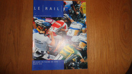 LE RAIL Revue Juin 2003 Mensuel 6 SNCB NMBS Chemins De Fer Train Jacques Brel Gare Frontalière Heer Agimont - Railway & Tramway