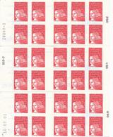 P-661: FRANCE: Lot Avec 3 Carnets  N°3085a C5 (type 2) SANS PHOSPHORE - Uso Corrente
