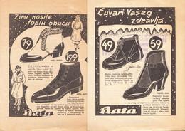 SHOES - BATA 1930th - Advertising