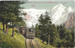 "CPA - Chemin De Fer ""LE FAYET-MONT BLANC"" - Sonstige Gemeinden"