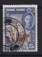 Hong Kong: 1941   Centenary Of British Occupation    SG167     25c     Used - Used Stamps