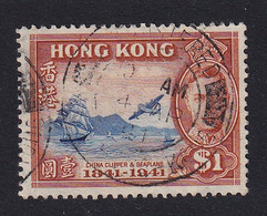Hong Kong: 1941   Centenary Of British Occupation    SG168     $1     Used - Used Stamps