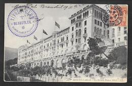 MONACO MONTE CARLO LE RIVIERA PALACE HOTEL 1904 N° B988 - Monte-Carlo
