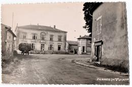 PANNES (54) UNE RUE Du VILLAGE. CAFE RESTAURANT. - Other Municipalities