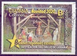 Used  Spain 2020, Christmas 2020 1V. - 2011-... Usati