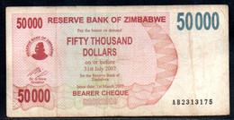 641-Zimbabwe 50 000$ 2007 AB231 - Zimbabwe