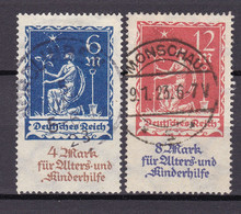 Germany - 1922 Year _ MIchel 233/234 - Used - Used Stamps