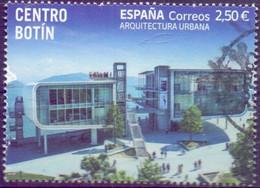 Used  Spain 2021, Botín Center, Santander 1V. - 2011-... Oblitérés