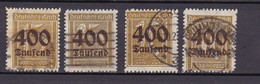 Germany - 1923 Year _ MIchel 297/300 - Used - Used Stamps
