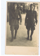 CAVA DEI TIRRENI ( SALERNO ) SOLDATI FASCISTI - CARTOLINA FOTOGRAFICA - 21 LUGLIO 1942 ( 7592) - Krieg, Militär