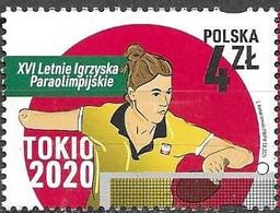 POLAND, 2021, MNH, TOKYO PARALYMPICS, 1v - Summer 2020: Tokyo