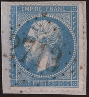 22/fgmt, Obl GC 2713 Oisseau (51 Mayenne ) Ind 14 ; Frappe Très Nette - 1849-1876: Klassik