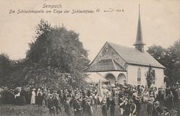 SUISSE  SEMPACH - BEAU PLAN - CARTE TAXEE - LU Lucerne
