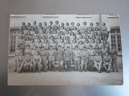 Carte-photo 81e Régiment D'infanterie Alpine, Montpellier. - War, Military