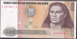 Billet Pérou Neuf - Perù