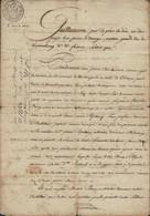 Luxembourg - Luxemburg - Lettre Weiswampach - Clervaux  1818  4 Scans - ...-1852 Vorphilatelie